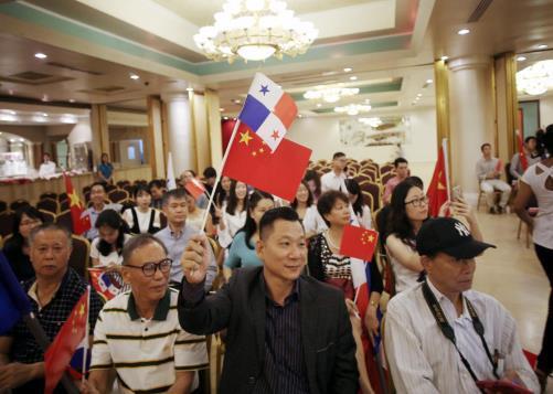 Establishing ties with China good to Panama, says president