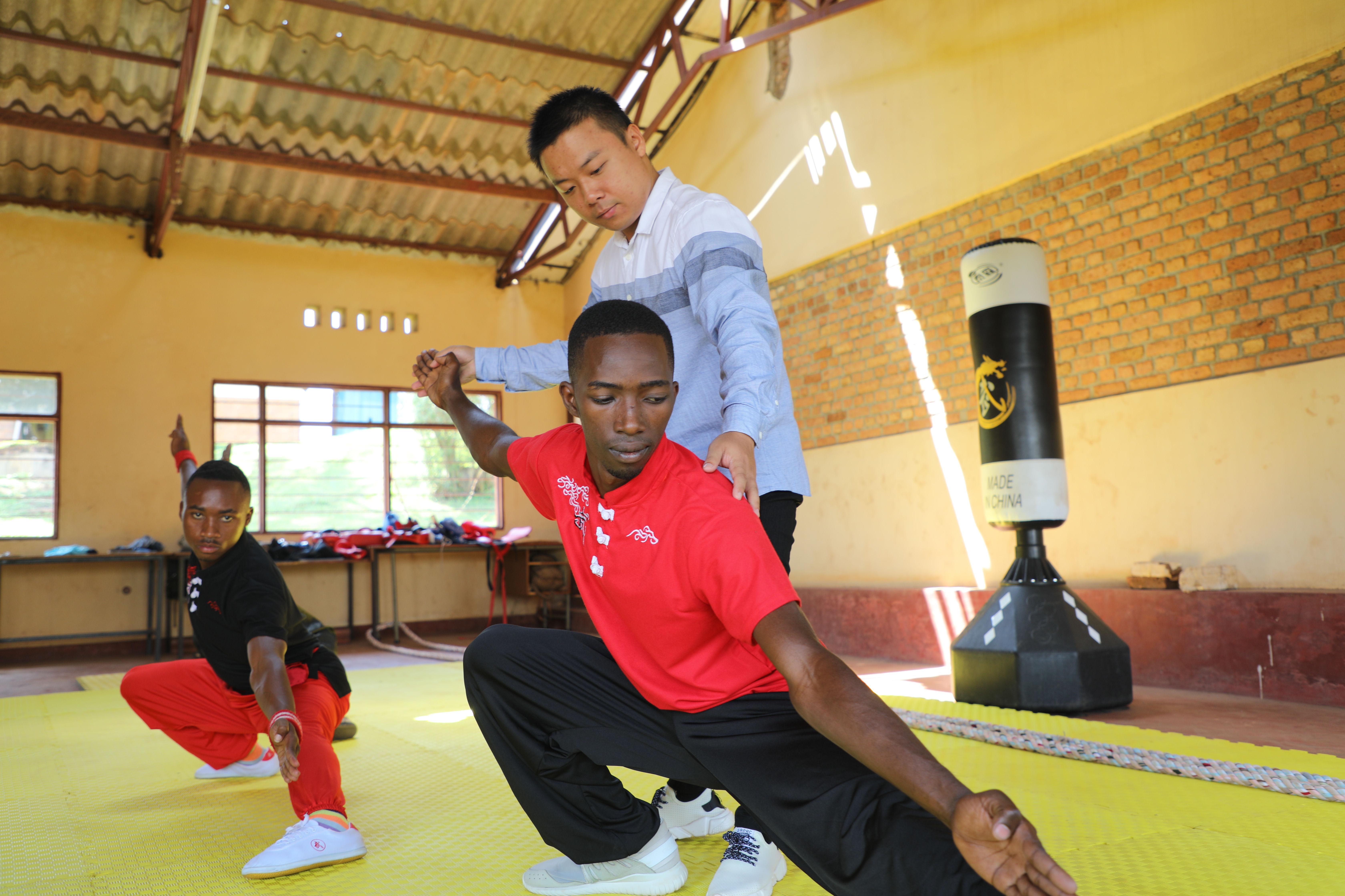 Chinese Kung Fu creates common ground between Chinese, Rwanda people