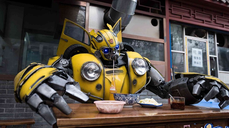 Bumblebee spotted on Xi'an street