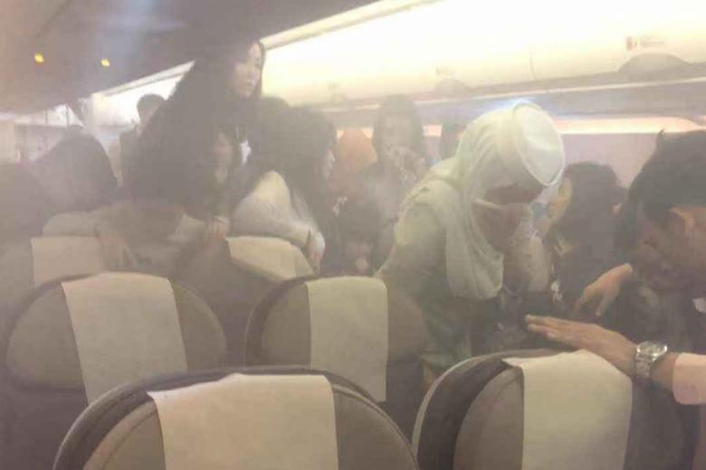 Power bank incident mars HK to Brunei flight