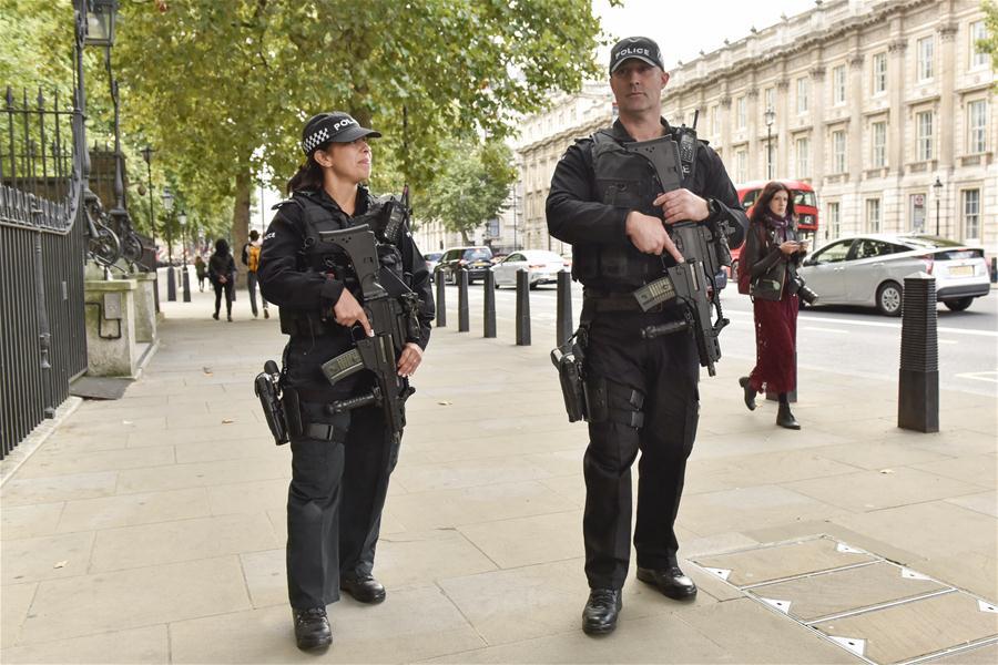 British police probe deadly stabbing on London-bound train