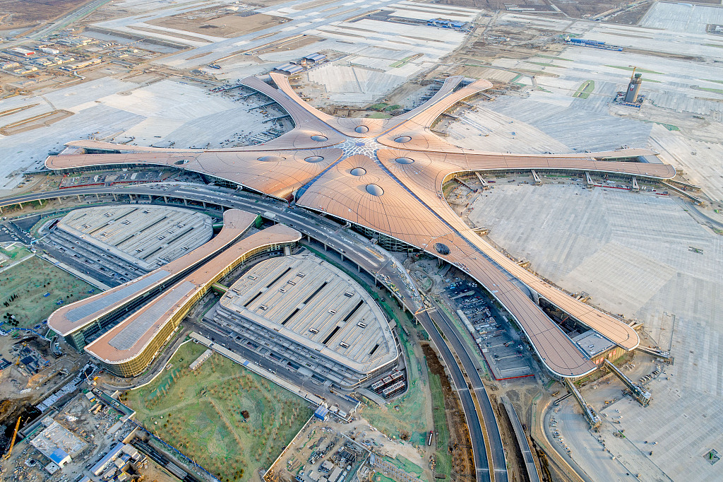 Beijing's new airport to handle 72 mln passengers annually by 2025