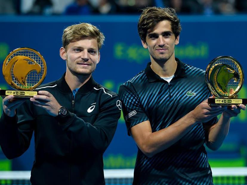 Herbert, Goffin claim title of ATP Qatar Open Tennis tournament doubles final