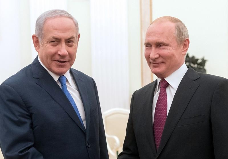 Putin, Netanyahu agree to coordinate on Syria