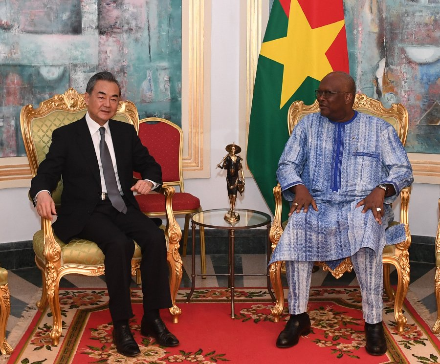 Burkina Faso president pledges stronger ties with China