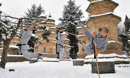 Russian thieves run off after Chinese tourists retaliate with kung fu