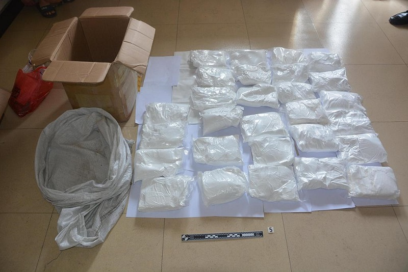 Yunnan police seize nearly 350 kg of methamphetamine