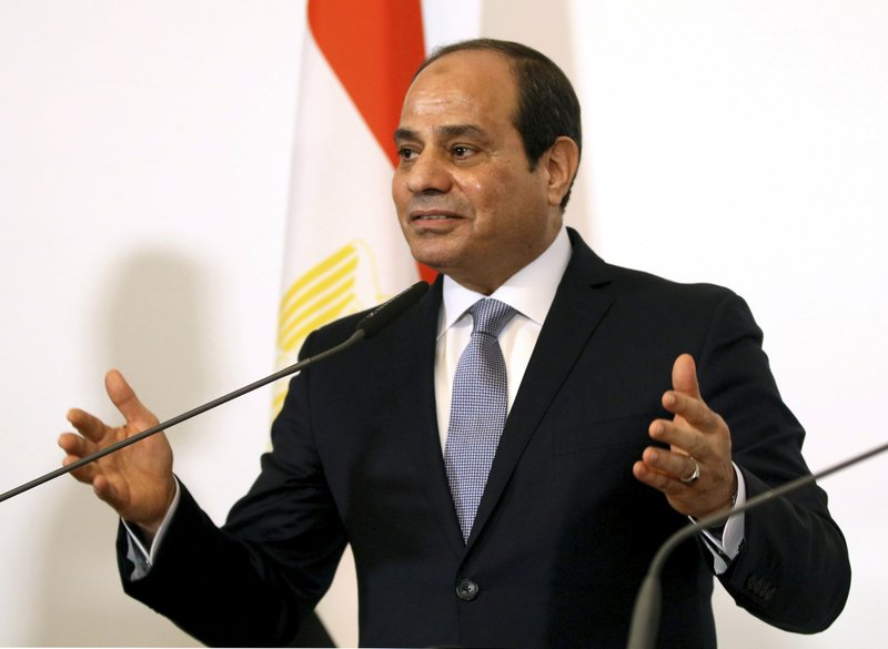 El-Sissi says Egypt, Israel cooperate against militants