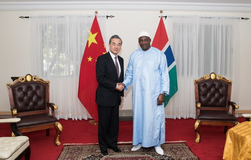 China-Gambia relations see rapid development on all fronts: Chinese FM