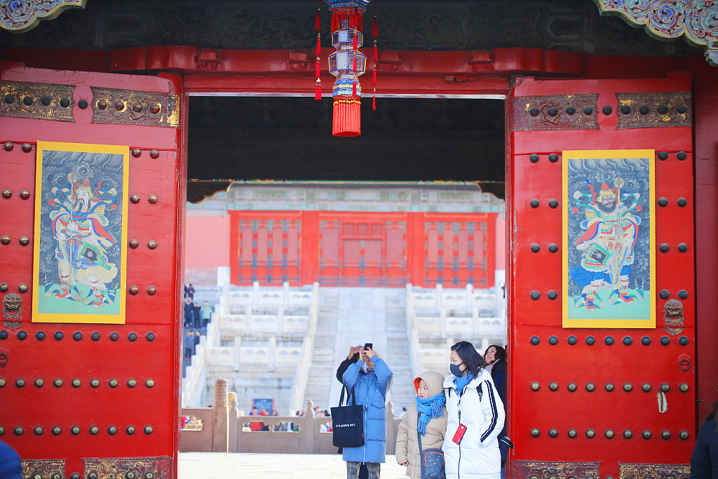 For first time ever, celebrate a special Spring Festival in Forbidden City