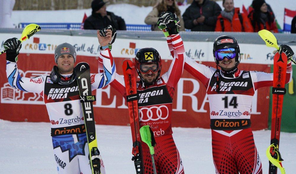 Austrian Hirscher gets 30th career World Cup slalom win