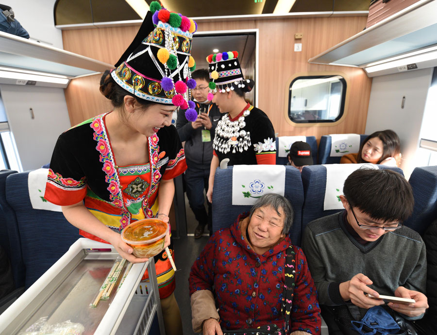 Fuxing bullet train with greater capacity debuts