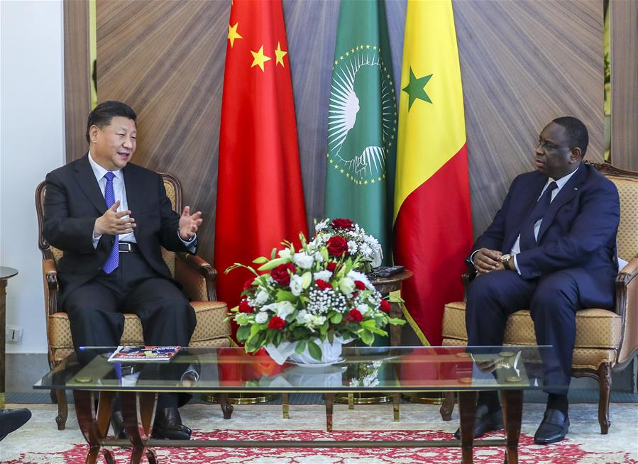 Senegal hopes to further advance cooperation with China: president
