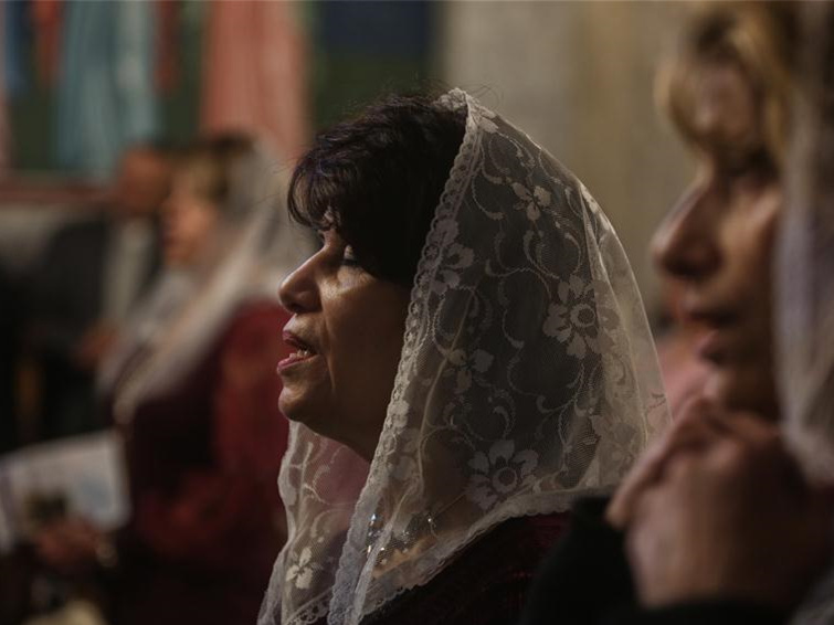 Orthodox Christmas mass celebrated in Gaza