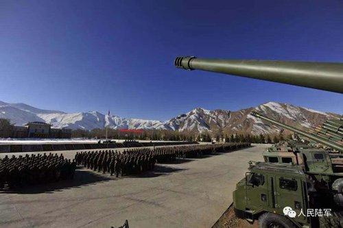 Mobile howitzers help Tibet border defense