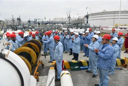 China completes major oil pipeline inspection