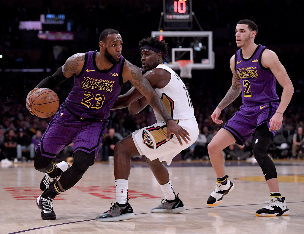 Lakers to visit China for NBA pre-season games against Nets