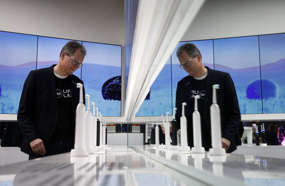 We're techy, too! Deere, Tide maker head to CES gadget show