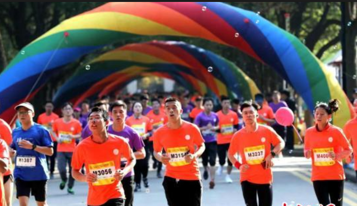 Survival of the fittest: The boom in exercise across China's college campuses