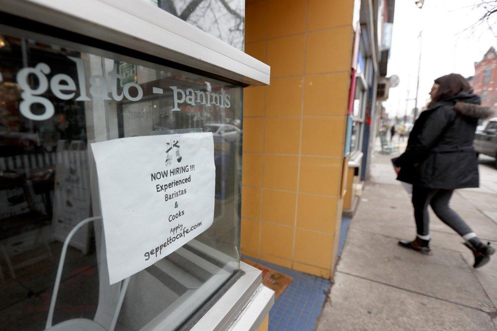 US job openings fell in November to still-strong 6.9 million