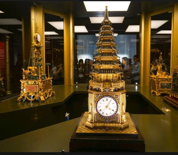 Qing Dynasty Clock Keeps Ticking: Timepieces from the Palace Museum exhibited in Hong Kong