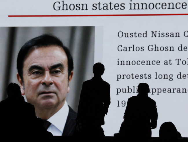 """Ghosn has first court appearance since arrest: """"I am innocent"""""""
