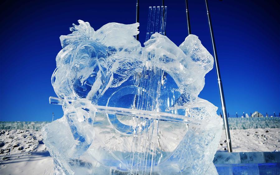 33rd Harbin international ice sculpture contest concludes