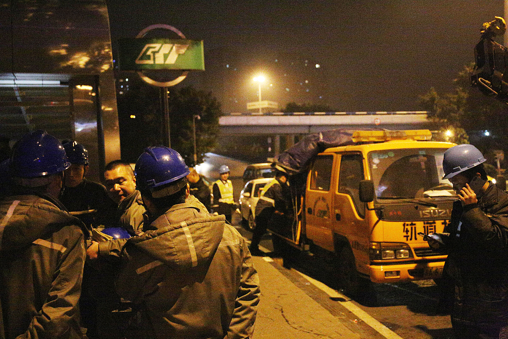 1 dead, 3 injured in Chongqing subway accident