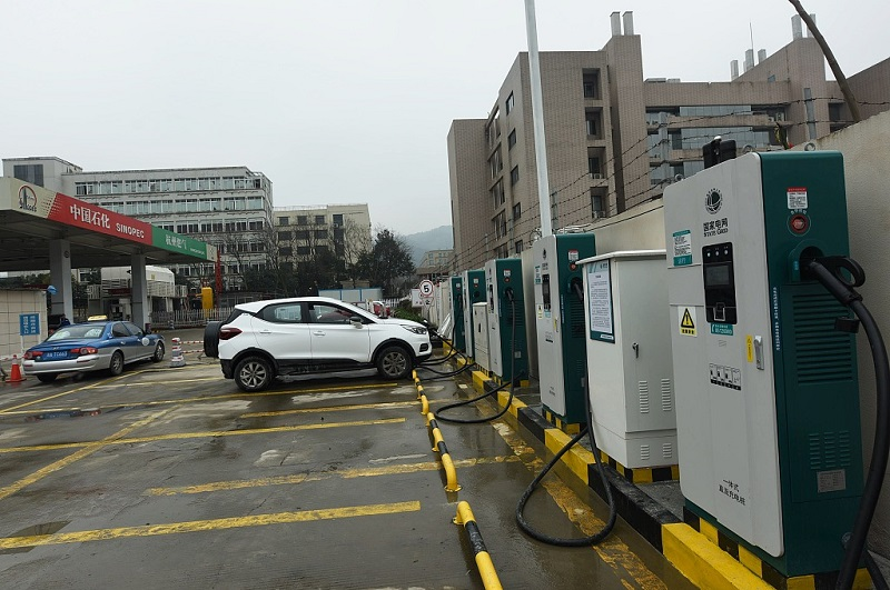 Comprehensive charging station in Hangzhou, Zhejiang