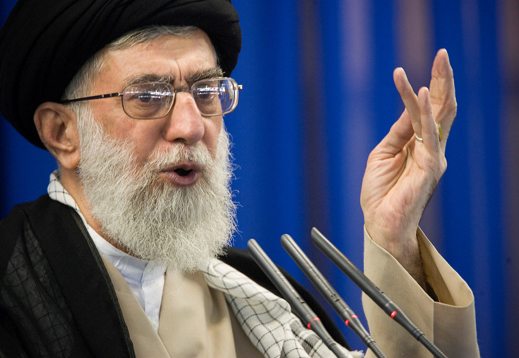 Iran's Khamenei: some US officials are 'first-class idiots'