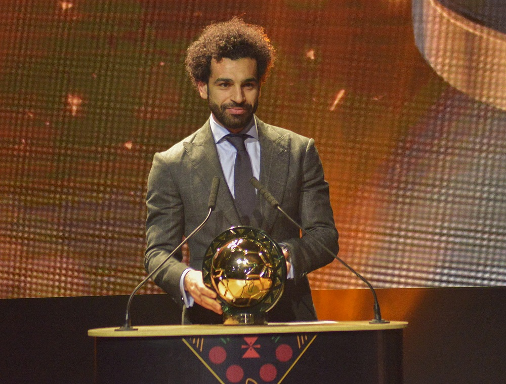Salah named CAF Player of the Year