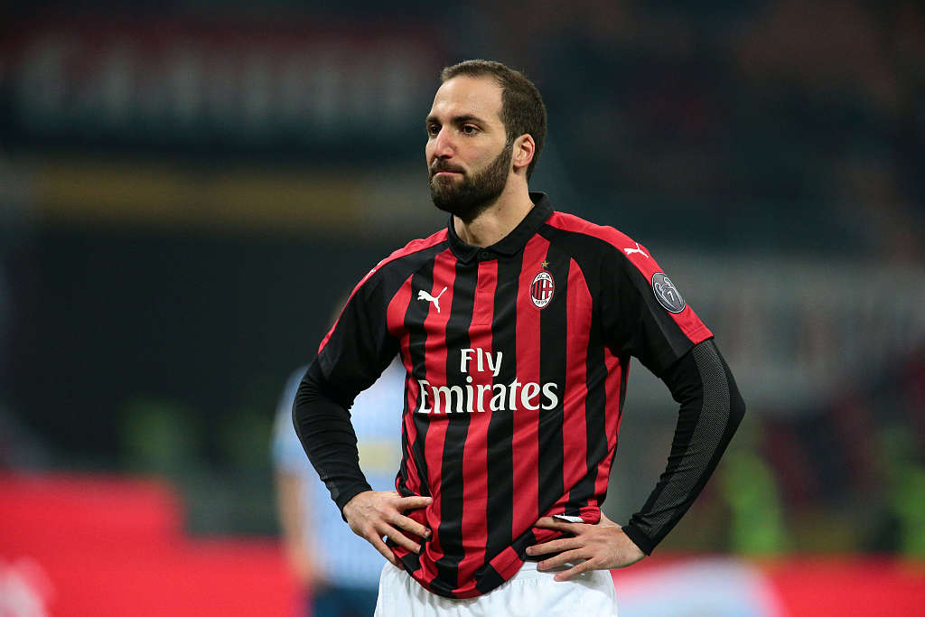 Higuain poised to end AC Milan loan and complete Chelsea move: reports