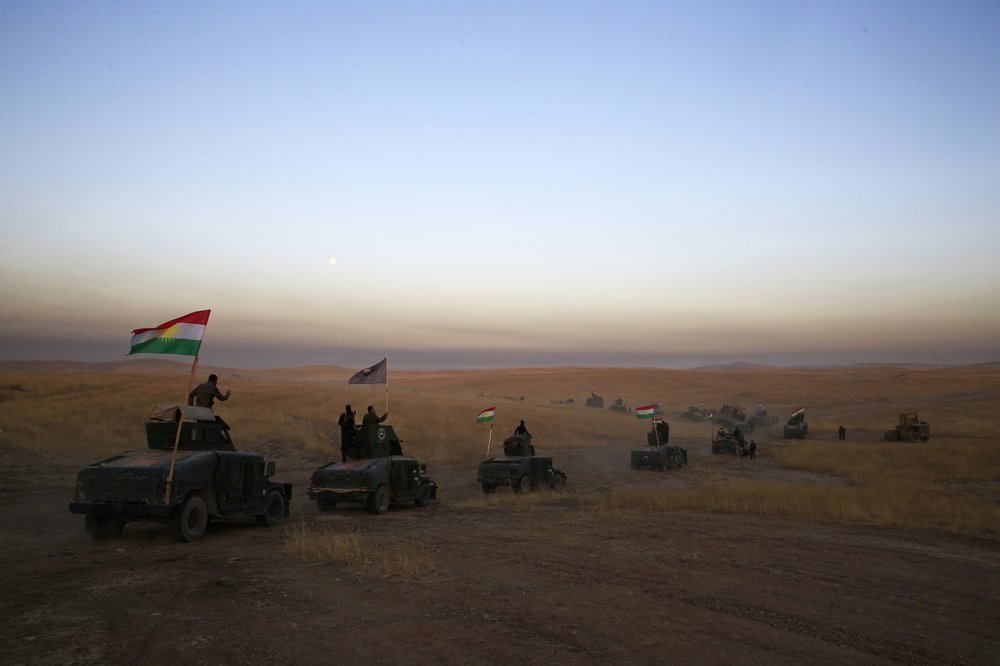 Kurds' ambitions caught in power games
