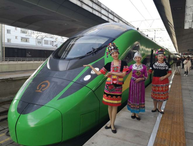 High-speed 'Hulk' hits the rails in Yunnan