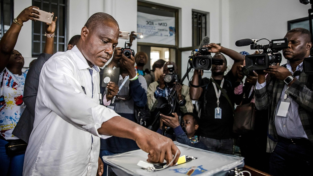 DR Congo opposition candidate warns against 'disguising truth' of election