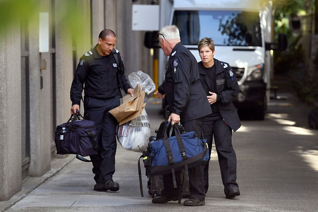 Australian police arrest man over suspect embassy packages