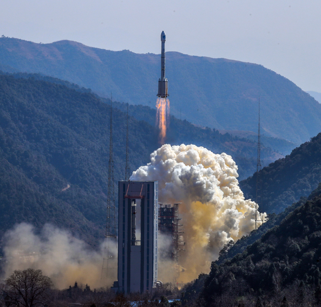 China space industry soars to new heights