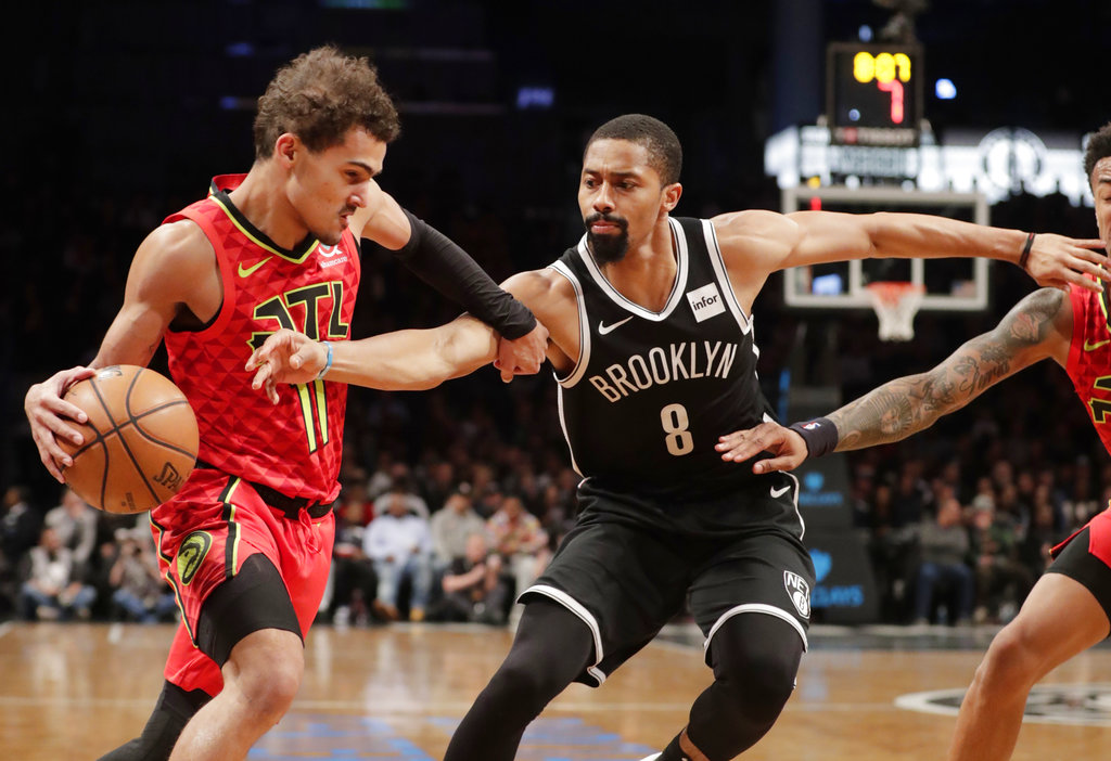 Russell, Nets climb out of early hole to beat Hawks