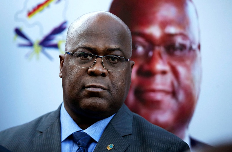 Opposition candidate Tshisekedi wins DR Congo's presidential election: electoral commission