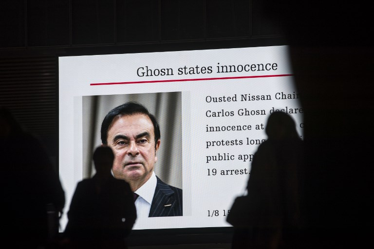 Ghosn suffers fever in Japan jail, skips questioning: media