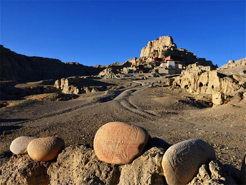 Scenery of Zanda County in China's Tibet