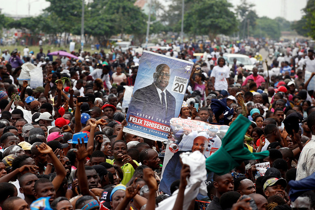 AU urges 'peaceful' resolution of DR Congo vote dispute