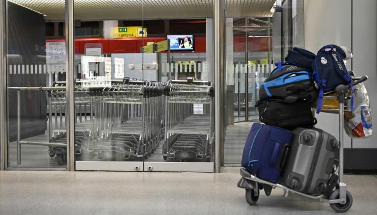 German airports strike slashes 600 flights