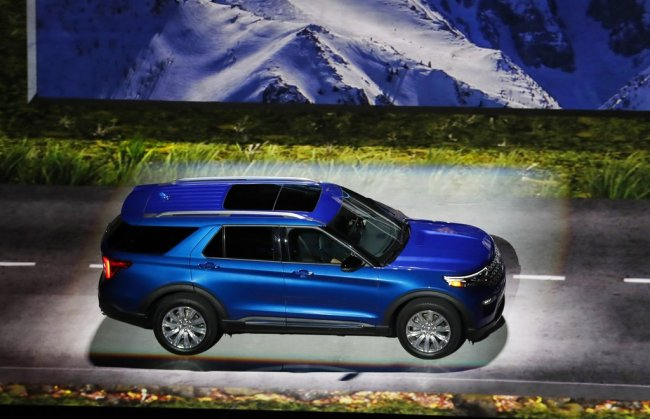 The 2020 Ford Explorer is unveiled, Wednesday, Jan. 9, 2019, in Detroit. [Photo: AP]