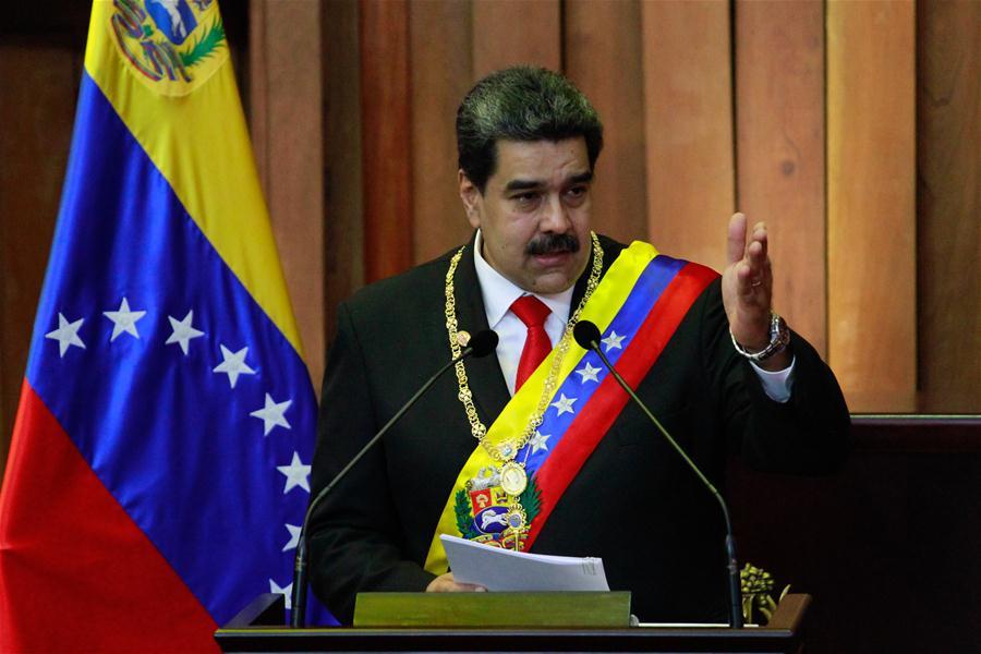 Maduro sworn in for new presidential term in Venezuela