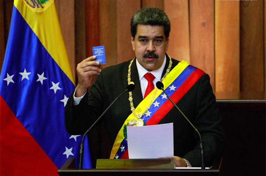 Chinese president's special envoy attends inauguration of Venezuelan president