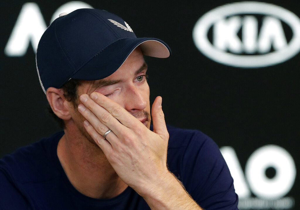Tearful Murray: Australian Open could be his last tournament