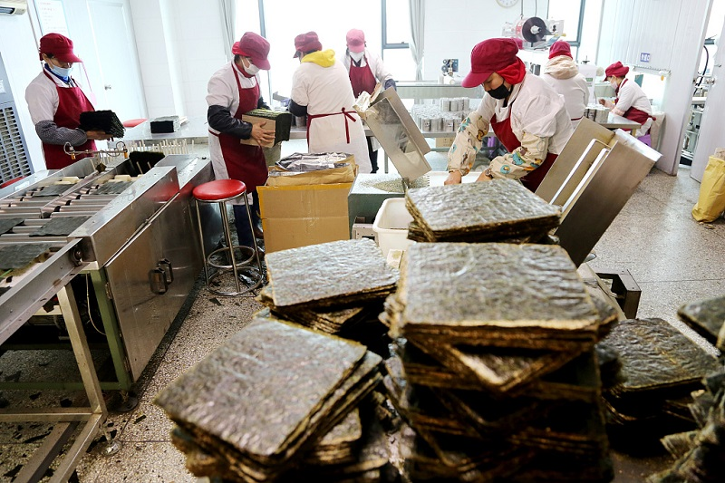 Growing market for seaweed products