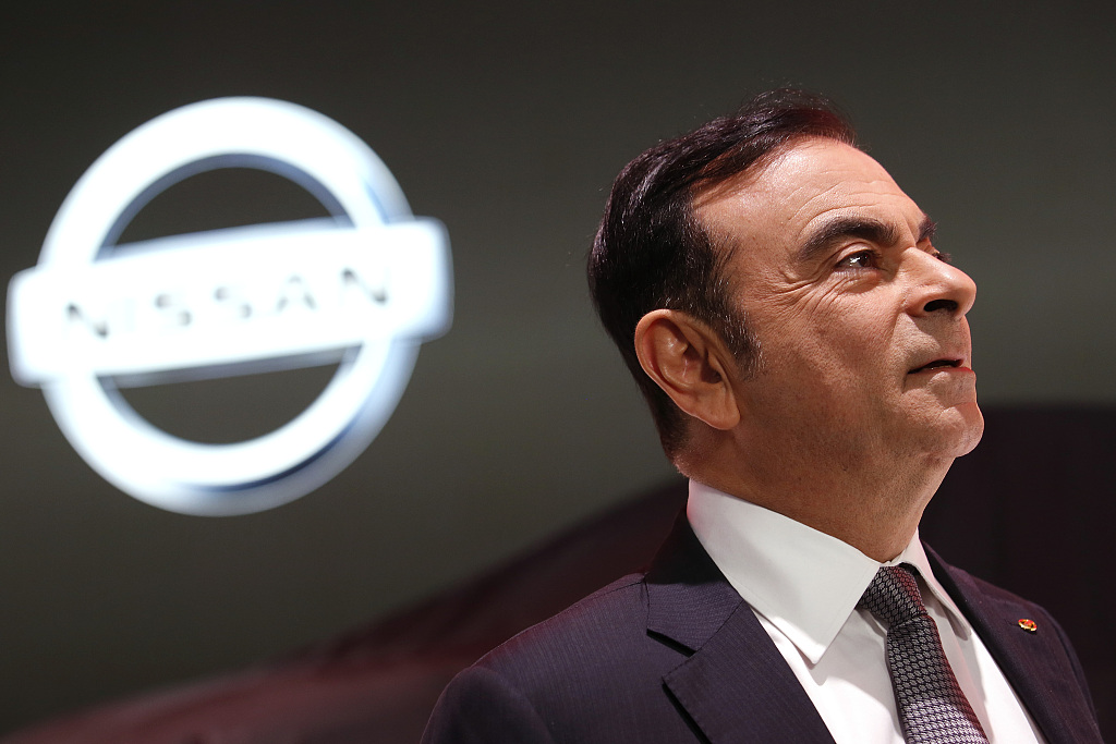 Ex-Nissan chair Ghosn indicted for alleged breach of trust