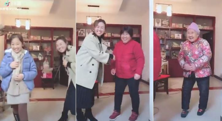 Four generations of Chinese women melt hearts across the world